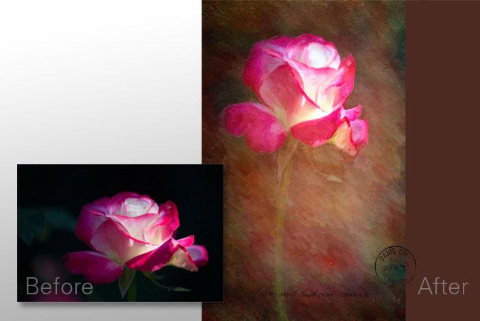oil paint effect Image © Denise Ippolito