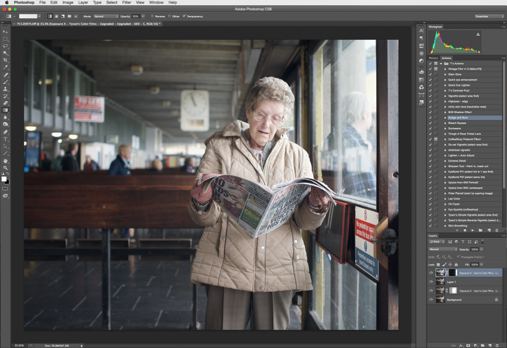 Image Retouching with Exposure -- Photoshop 2