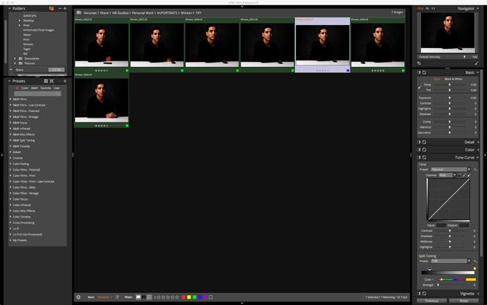 fast photo editing workflow Exposure X Gabriel Hill